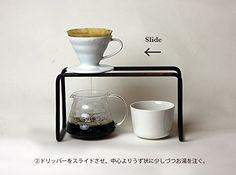 日本原装 实心八角铁咖啡手冲滤杯架 营业神器-淘宝网