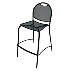 The Barkley collection is characterized by a transitional, stackable design providing an affordable choice for anyone who prefers a contemporary, streamlined look combined with comfort and durability. Since this is a closeout/sale item, there will be no warranty for this item as it will be discontinued once the stock depletes.Wrought Iron Cafe Series Features    Frames are constructed of 13/16