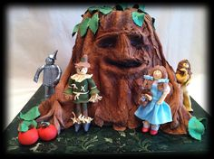 Wizard of Oz cake by Cakes by Susan