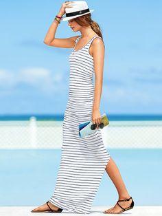 Tank Maxi Dress #VictoriasSecret http://www.victoriassecret.com/sale/clothing/tank-maxi-dress?ProductID=108684=OLS=true_mmc=CJ-_-2975314-_-10537318-_-Product%20Catalog?cm_mmc=pinterest-_-product-_-x-_-x