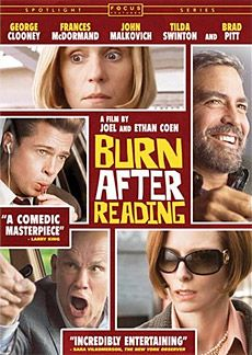 Joel and Ethan Coen's jet-black comedy Burn After Reading begins with CIA agent Osborne Cox (John Malkovich) losing his job.