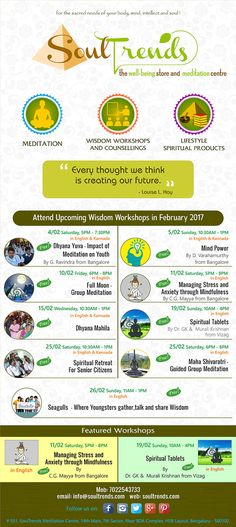Attend upcoming #wisdom workshops @ SoulTrends