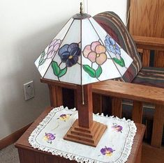 Step by Step Instructions How to Make a Stained Glass Panel Lamp