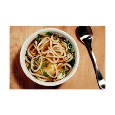 Udon #fortheloverainie ❤ liked on Polyvore featuring food y food and drink