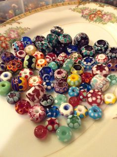 A few favorites....Handcrafted glass beads by Blueberry Bay Beads