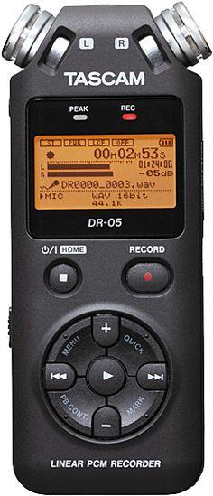 Tascam DR-05 dictaphone HQ USB Alkali Micro-USB A AA #Tascam #DR-05 #Recorder und Player Hier klicken, um weiterzulesen.