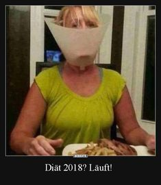 Diät 2018? Läuft!
