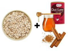 Immune-Boosting Chai Latte Porridge  Make up your porridge with water and Chai Latte powder, then drizzle over 1 tsp each honey and cinnamon powder  The Benefits: • Chai: The black tea in chai is rich in antioxidants. • Honey: Antibacterial properties in honey will help you beat colds