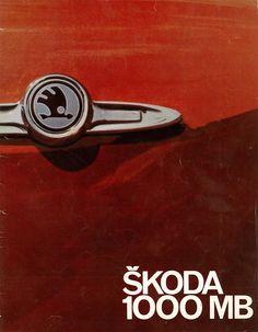 Škoda 1000 MB Car Posters, Old Cars, Badges, Wheels, Advertising, Exterior, Retro, Logos, Vehicles