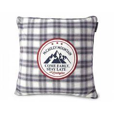 Lexington Dekokissen Holiday Mountain Sham Flanell · home go lucky