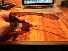 Seven layers of our curly Koa formed into an elegant curved shape…just like the recurve bow of ancient times. Still waiting for Oakley to call me up : )…love their frames. Let me know if you like them. Still Waiting, Oakley, It Works, Frames, Layers, Curly, Bow, Let It Be, Shape