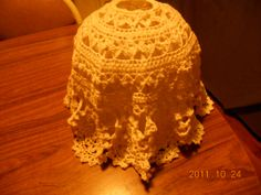 Crochet+Lamp+Shade+Patterns   AUGUSTA CRAFTER: Crocheted Lamp Shade Cover