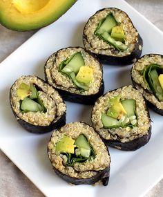 Quinoa Avocado Sushi
