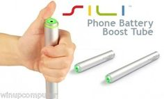 Sili Boost tube 2600 mAh Portable Battery Back Up (Silver)