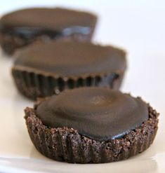 Paleo chocolate tarts ..... Hold the maple syrup and use a little Erythritol..... Better for your blood glucose and waistline!