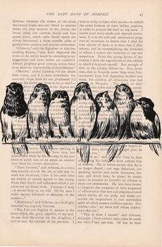 dictionary art bird print vintage BIRDS on a WIRE no. 2 print - vintage art book page print - bird dictionary art page print via Etsy. Book Page Crafts, Book Page Art, Old Book Pages, Art Pages, Art Vintage, Vintage Birds, Vintage Drawing, Decoupage Vintage, Journal D'art