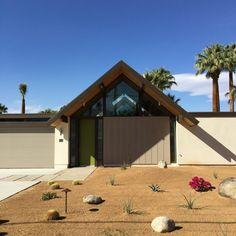 A Desert Eichler home in Palm Springs.