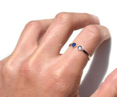 His & Her's Birthstone Ring. I really want one of these in Laker's & my birthstones (August & December). $94