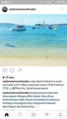Lady martins beach Sydney