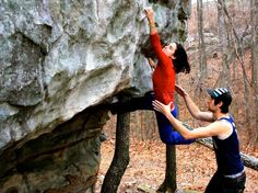 Bouldering in the US