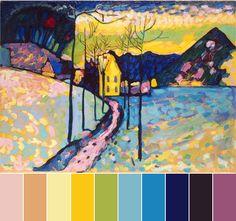 December Monthly Challenge Color Palette