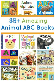35+ Amazing Animal ABC Books for Kids