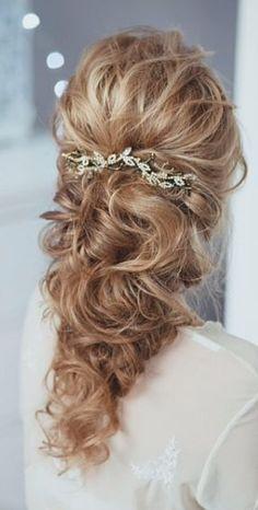 Trendy Wedding Hairstyles :   Featured Hairstyle: tonyastylist (Tonya Pushkareva) instagram.com/tonyastylist; Wedding hairstyle idea.    - #WeddingHairstyles