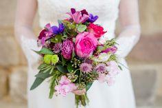 Brautstrauß, lila, pink, wedding bouquet, flowers, Stileben Esslingen - photo by Rebecca Conte