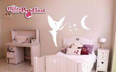 vinilos pared infantiles | Vinilo decorativo Vinilo infantil Hada infantil ref. fn 0003)