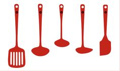 Enamelled-Kitchen-Tools-RED