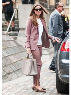 Street Style at Spring 2014 London Fashion Week - LFW Street Style Pictures - Marie Claire
