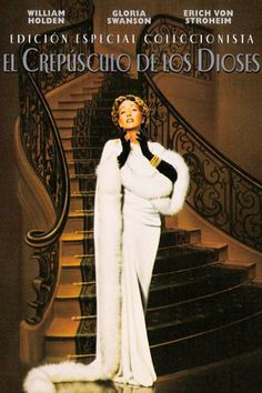El crepúsculo de los dioses (1950) EEUU. Dir: Billy Wilder. Drama. Cine negro. Cine dentro do cine - DVD CINE 63