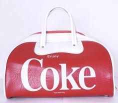 Vintage Coca-Cola Sports Bag
