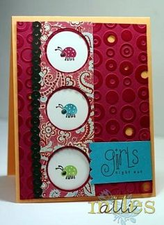 CC114 Girls Night Out by themilesmum - Cards and Paper Crafts at Splitcoaststampers