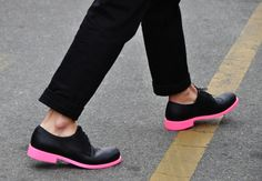 I think these are Cole-Haan? Actually, no. Isa says they're Jil Sander and she is right. Thanks Isa!