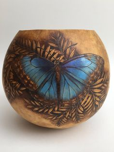 "​ EVENT CANCELED March Forty-Seventh Woodcarving & Wildlife Art Festival- Lancaster Woodcarvers at Millersville University exhibiting with PA Gourd Society, will be giving a ""Getting. Wood Burning Crafts, Wood Burning Patterns, Hand Painted Gourds, Gourds Birdhouse, Jar Art, Carved Eggs, Gourd Art, Outdoor Art, Ceramic Painting"