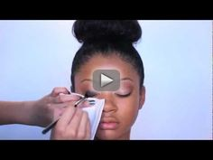 GLAM MAKEUP TUTORIAL ON MODEL!