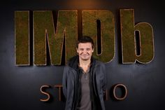 "Jeremy Renner Photos Photos - (L-R) Actors Taylor Sheridan and Jeremy Renner of ""Wind River"" attend The IMDb Studio featuring the Filmmaker Discovery Lounge, presented by Amazon Video Direct: Day Three during The 2017 Sundance Film Festival on January 22, 2017 in Park City, Utah. The IMDb Studio at the 2017 Sundance Film Festival Featuring the Filmmaker Discovery Lounge, Presented by Amazon Video Direct: Day Three - 2017 Park City"