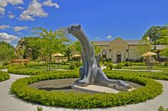 Sculpterra Winery in Paso Robles. Beautiful sculpture garden and wonderful wines!!