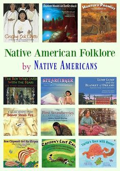 Native American Folklore & Creation Stories by Native Americans To the best of my ability, I make this Native American folklore list as part of my Folk Tales series with books by just Native American authors. What am I missing? Thanks for your help. Native American Children, Native American History, Native American Literature, American Symbols, American Women, American Indians, American Art, Native American Projects, Native American Music