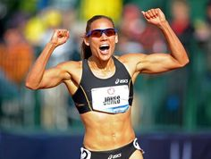 U.S. Olympic track and field trials: Lolo Jones makes Olympic team in 100-meter hurdles.
