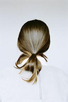 Hairstyle Inspiration | The Ulta Chic undone Ponytail straight hair