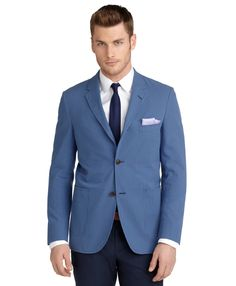 Cambridge Tonal Seersucker Sport Coat - Brooks Brothers