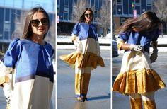 Street Style Snaps From New York Fashion Week: Day Three | Fashionista