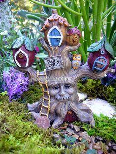 Miniature Fairy Garden Enchanted Forest Tree House