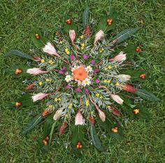 Peace and Harmony nature mandala Flower Mandala, Flower Art, Tribal Theme, Ephemeral Art, Chakra Art, Organic Art, Season Of The Witch, Garden Terrarium, Expressive Art
