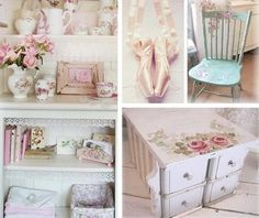 The interior in the style Shabby chic
