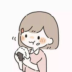 Artist: @hnt0002 on twitter Friend Anime, Anime Best Friends, Anime Couples Drawings, Cute Anime Couples, Cute Little Drawings, Cute Drawings, Kawaii Chibi, Anime Chibi, Cute Cartoon Wallpapers