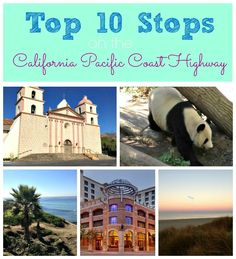 10 must-see stops along the California Pacific Coast Highway