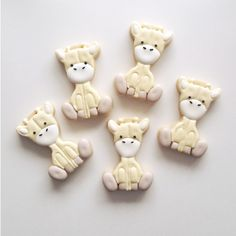 Baby Shower Cookies | Plush Giraffe by The Cookie Gallery